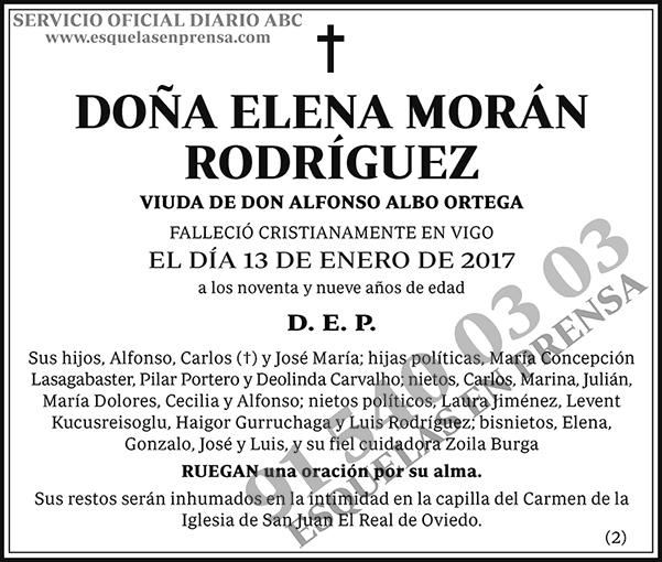 Elena Morán Rodríguez